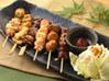 岩手県産 菜・彩・鶏 焼き鳥盛り合わせ 6本