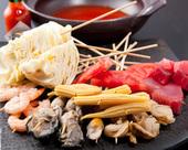 冷製トマト海鮮串鍋
