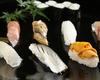 ニッポン漁場の寿司盛り合わせ