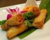 タイ風鶏の揚げ春巻