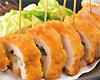 桜姫鶏のチキンチーズはさみ揚げ