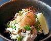 鶏ハラミの湯引きポン酢