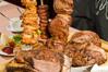 10種類のシュラスコ料理とブェッフェ(サラダバー、デザートバー、ドリンクバー)