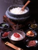 コシヒカリ石釜炊き