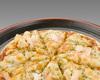 海老とポテトのピザ
