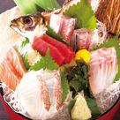 板長自信の鮮魚五種盛り