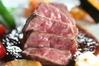 深谷牛のステーキ