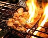 大山地鶏しゃも もも炙り焼き