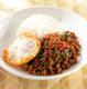 豚挽き肉のバジル炒めご飯ガパオ