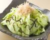丸ごとレタス塩昆布サラダ