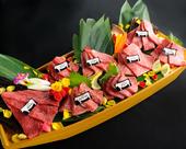 美美名物・肉の船盛り
