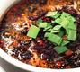 黒ゴマの刺激的な大陸の味タンタン麺