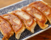 手作りの焼餃子