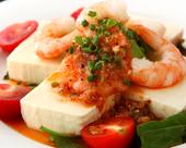 ユニバ風 豆腐のサラダ
