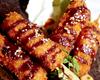 豚バラのでら味噌串カツ