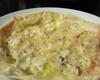 四種チーズの紙生地ピッツァ