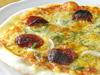 本格ナポリ風 トマトソースのピザ