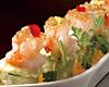 和野菜の生湯葉春巻き 海老とアボカドソース